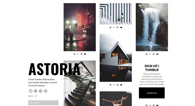 30+ Best Free Minimalist Tumblr Themes to Download