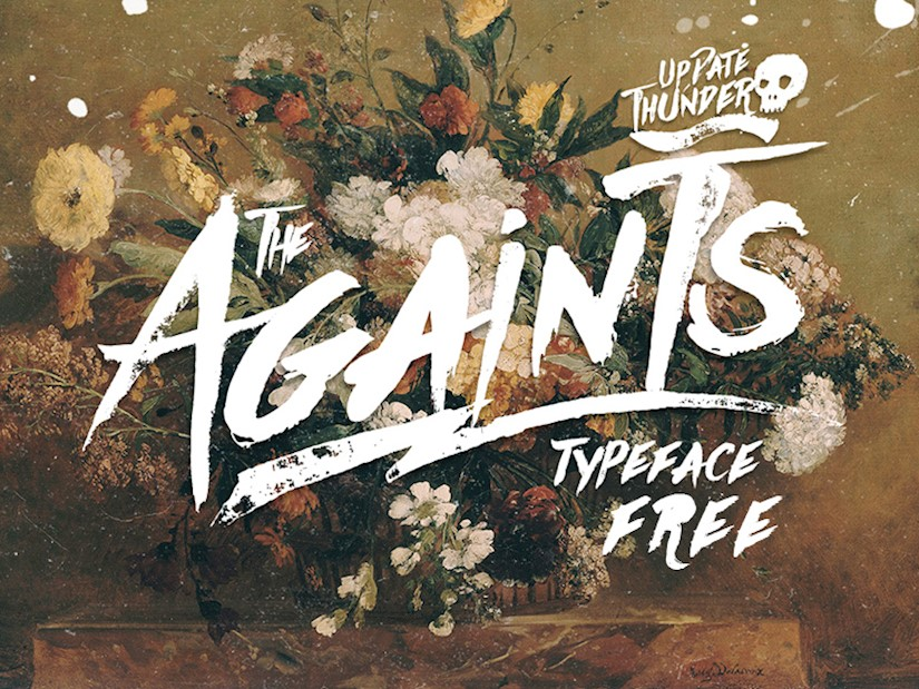freebie-againts-typeface