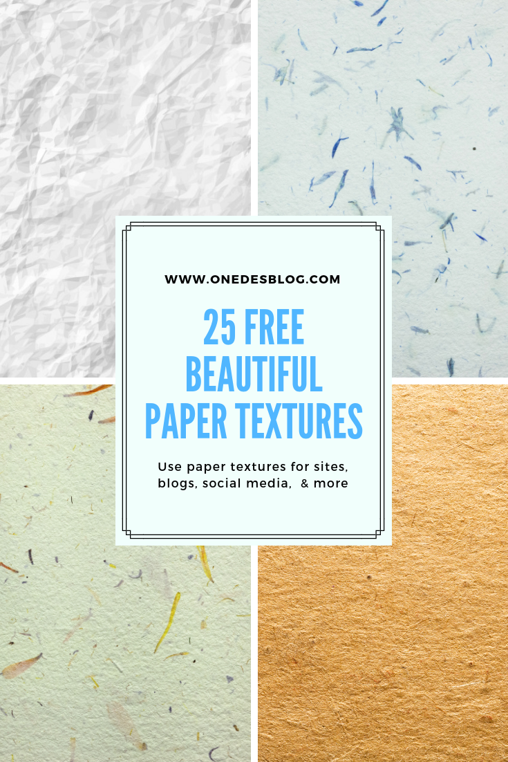 25 High-Resolution Free Paper Textures for Your Designs