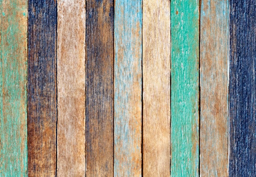 featured colorful wooden texture