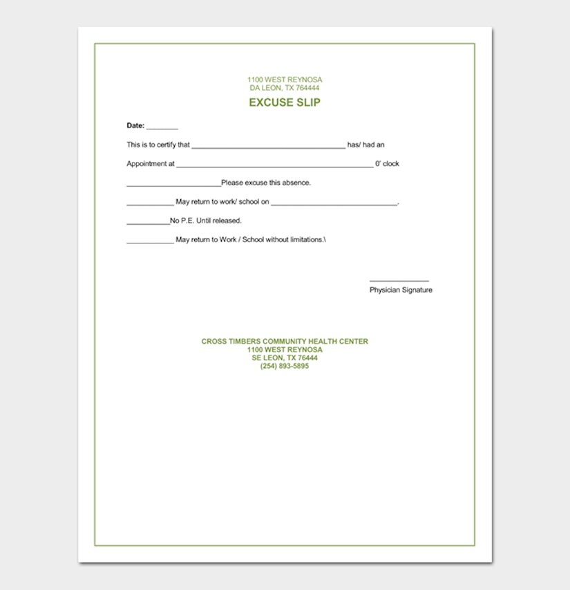 Fake Drs Note Template from onedesblog.com