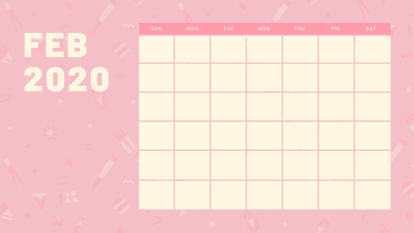 30 free february 2020 calendars for home or office