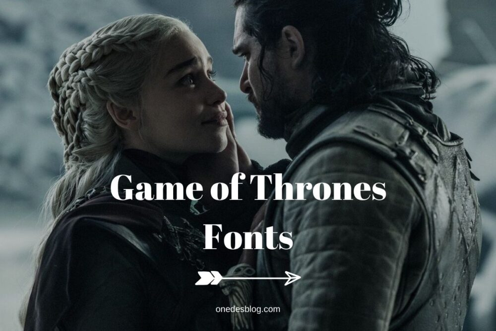 game of thrones fonts free download