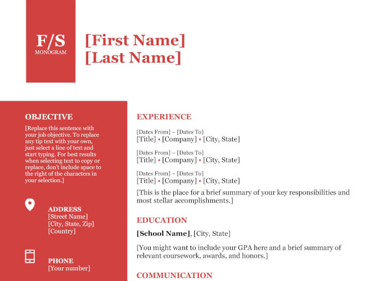 35 free modern resume templates for word