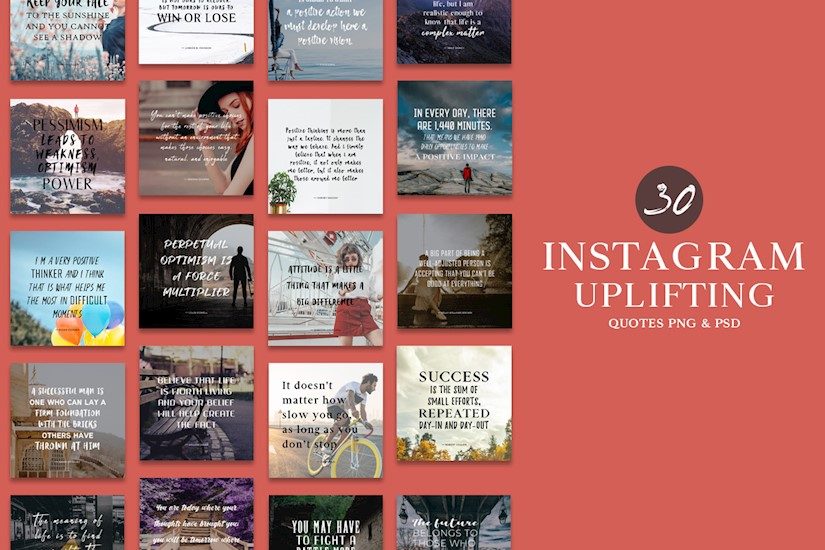 30 free instagram uplifting quotes