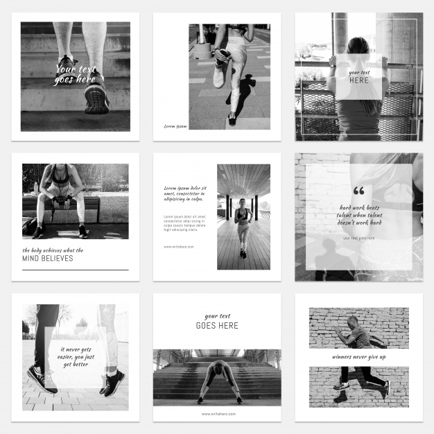 black and white instagram posts