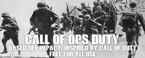 call of ops duty font 1 original