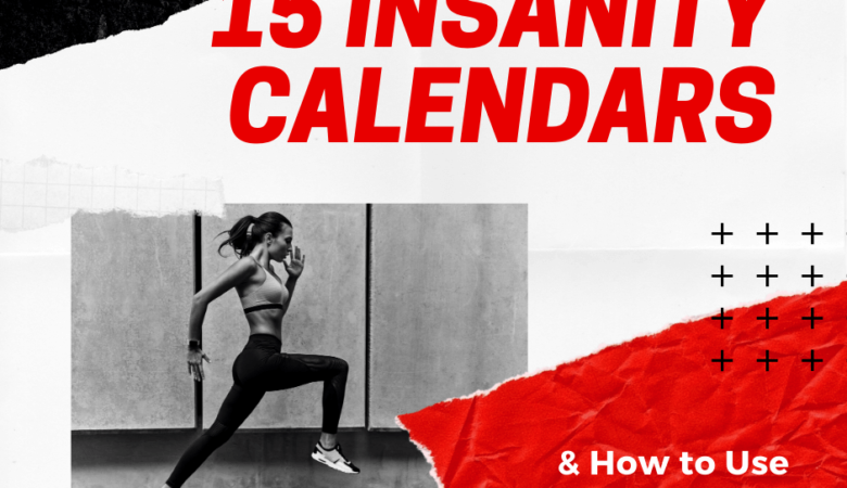 insanity calendar workout