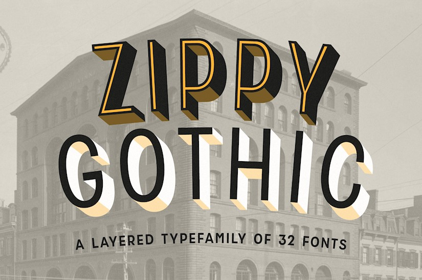 zippy gothic a huge layered family