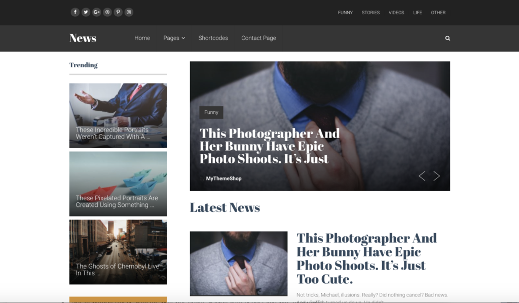 10 socialnow news wordpress theme fast