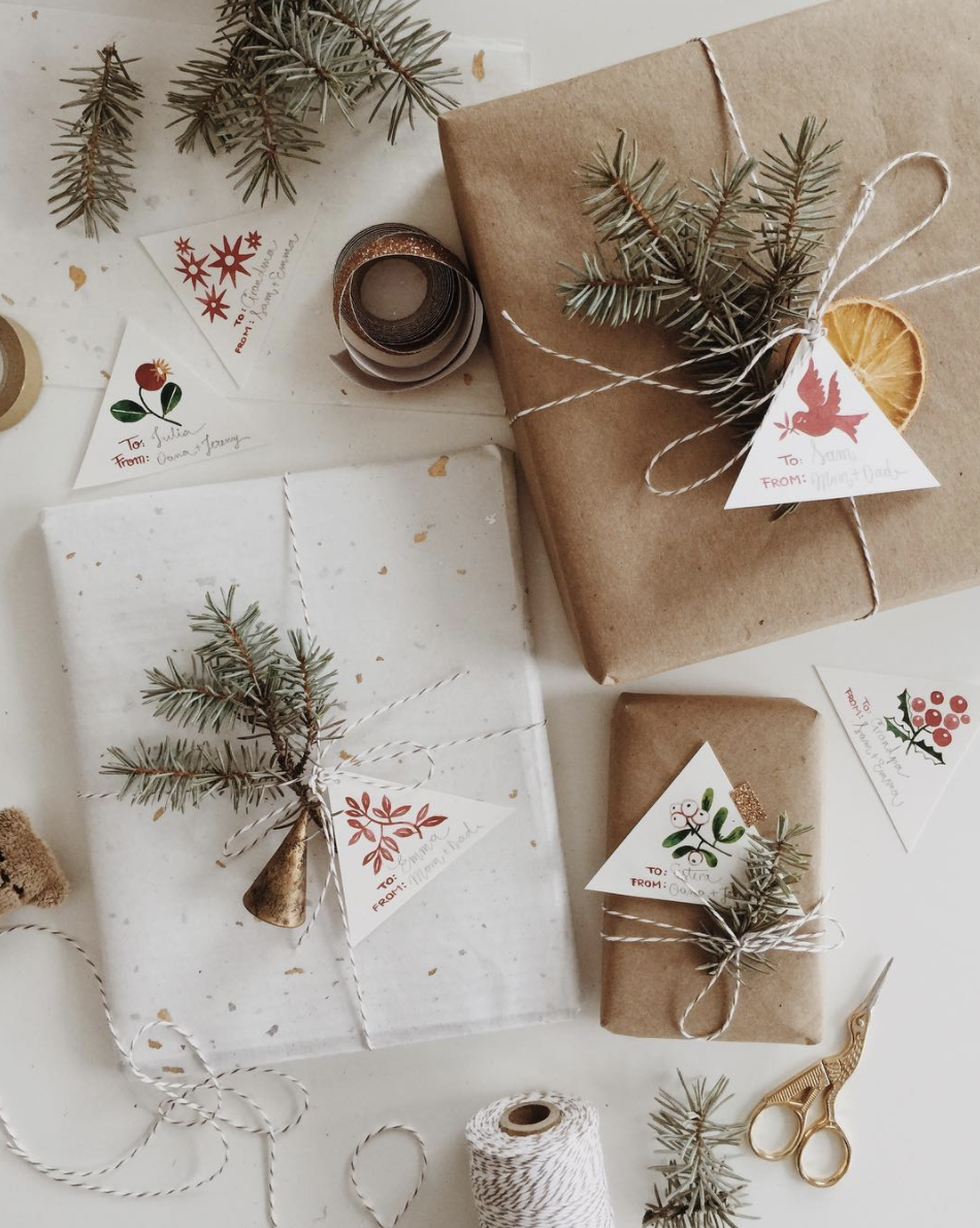 7 gift tag idea instagram