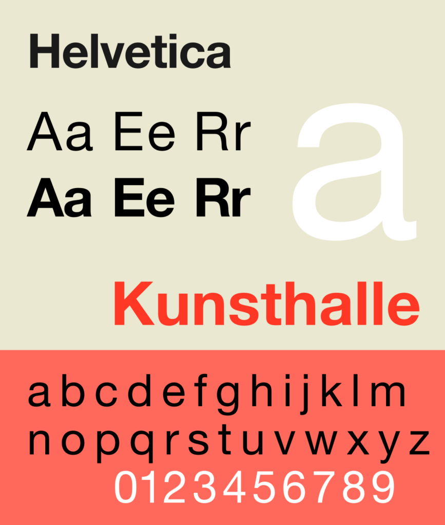 helvetica best font for reading shopify store