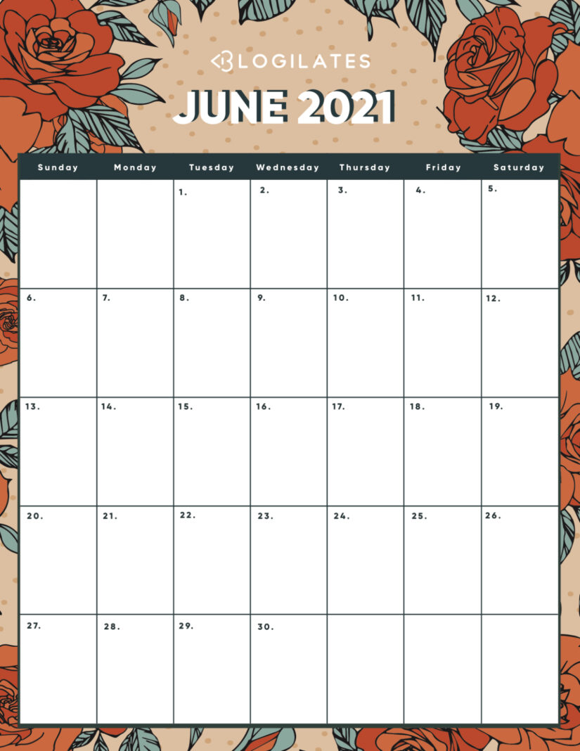 30 Free Printable July 2021 Calendars with Holidays ...