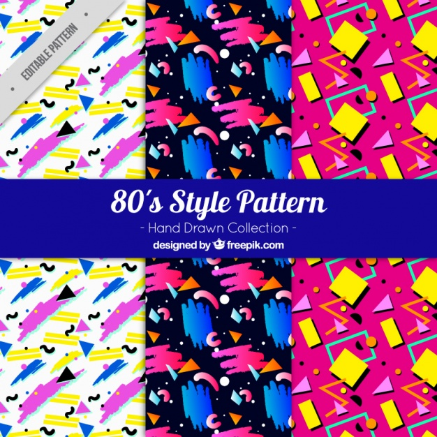 hand drawn patterns with colorful shapes23 2147589126