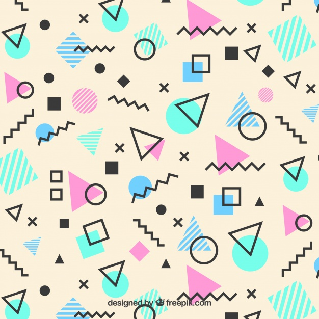 memphis pattern geometric shapes23 2147668865