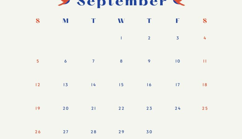 nice canva september 2021 calendar