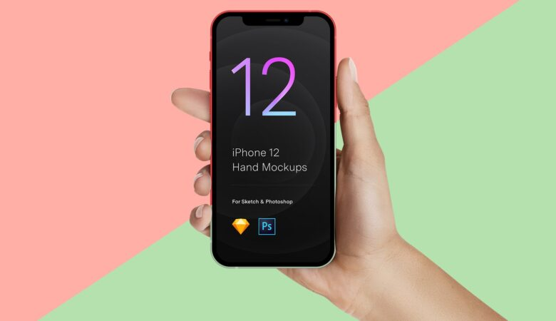 11 Hand Mockups iPhone 12 Pro normal