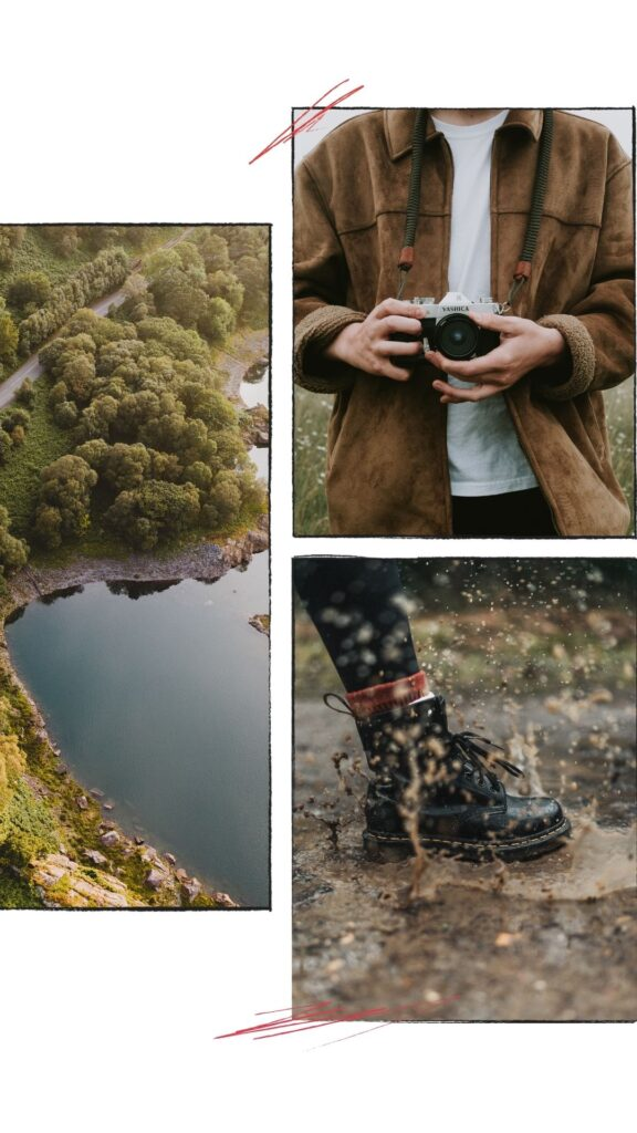 Nice photo collage for Stories canva