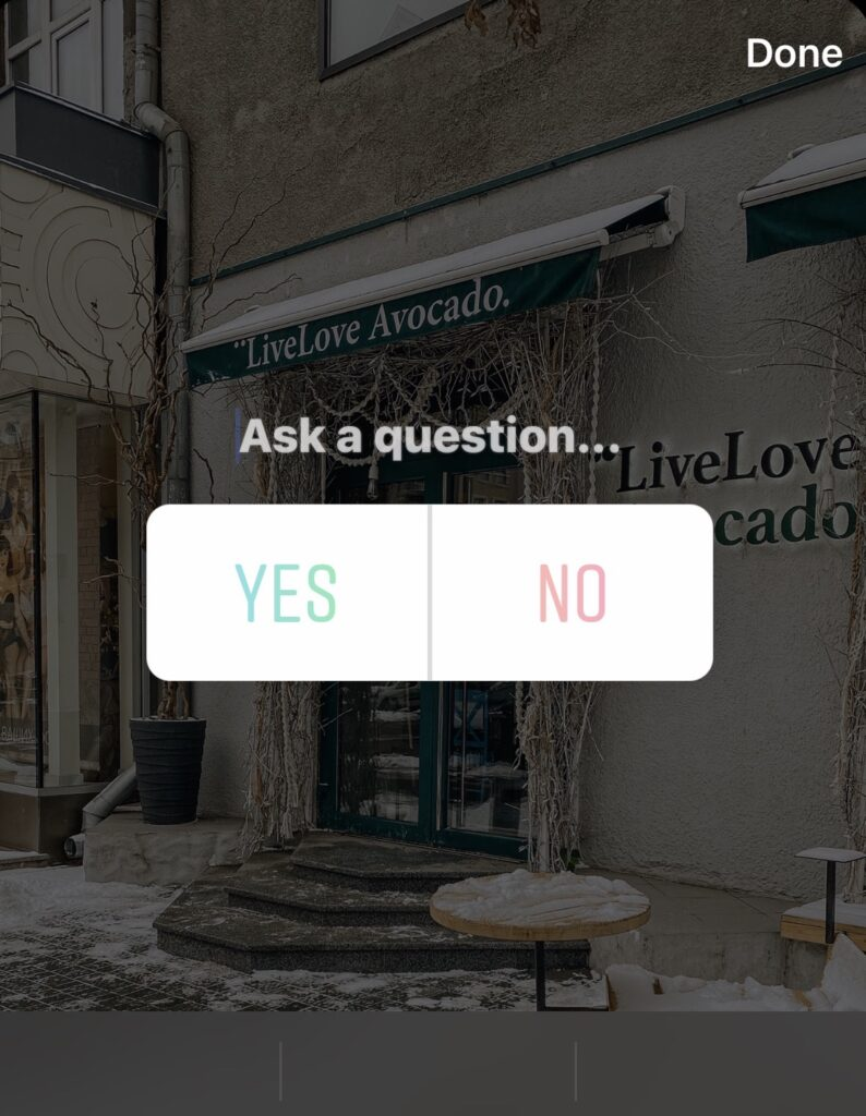instagram poll how to create 3
