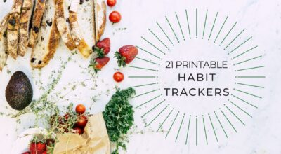 printable habit trackers cover 2