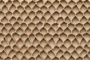 Cardboard Like A Honeycomb Texture