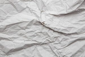 Creased And Torn Paper Texture