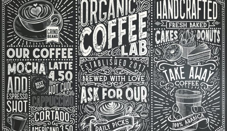 13 15 fonts coffee lab collection