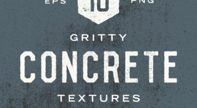21 Gritty Concrete Textures wall