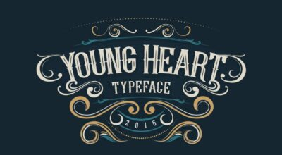 43 Young Heart Typeface