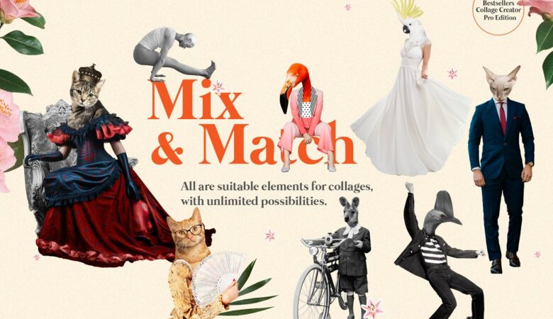 2 Bestsellers Collage Creator mix match